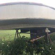 50′ x 16′ Heavily Framed Twin Screw Hull