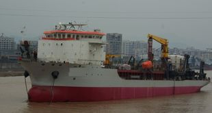 NEW BUILDING ORDER 8,000m3 Trailing Suction Hopper Dredger
