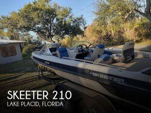 2012 Skeeter SL210 Fish and Ski
