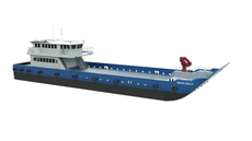 MOC Shipyards 45m Cargo Passenger Landing Craft