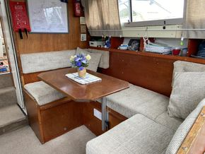 Dinette with table out