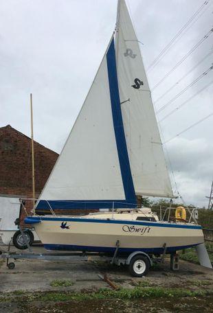 Swift 18 De Luxe Trailer Sailer