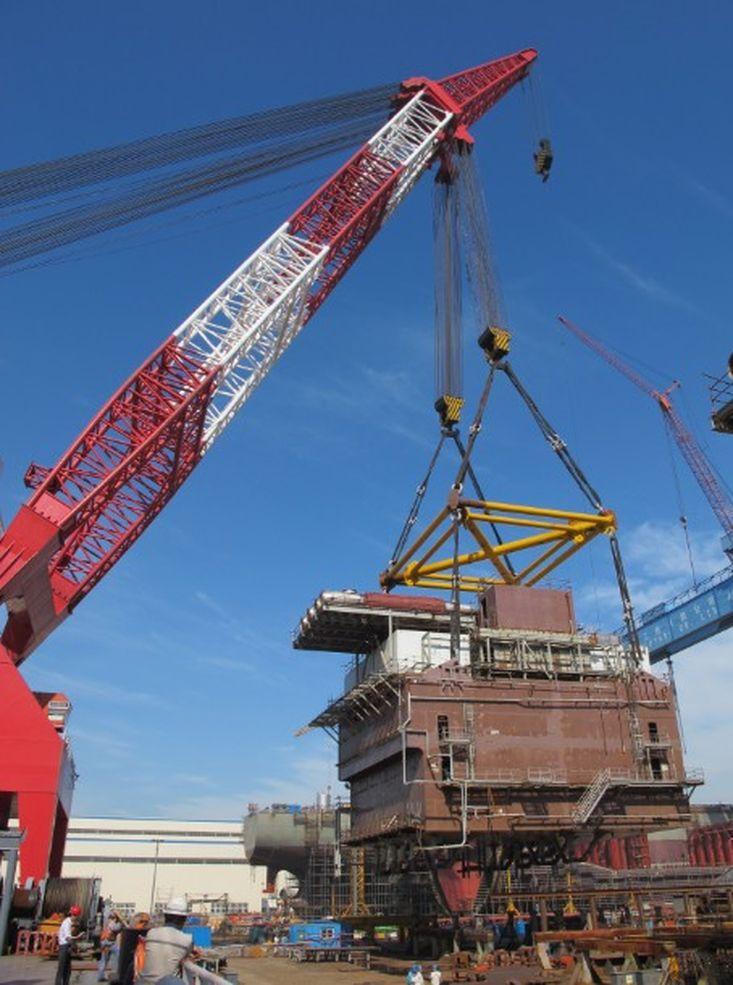 3800t Revolving Crane Barge