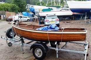 10ft TWINKLE CLASS SAILING DINGHY