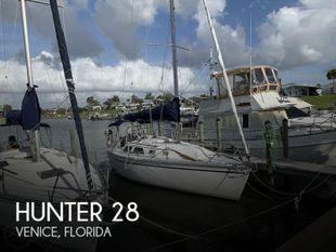 1991 Hunter 28