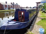 57ft Crusier stern Narrowboat built 2004 by Liverpool boats