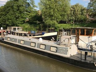 68' extended 1951 Narrow Boat with recent upgrades
