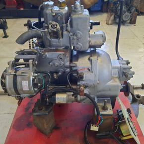 Yanmar YSE8 engine for boat