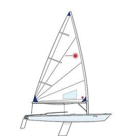 Laser Race Radial with Trolley - New