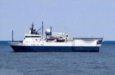 254' Seismic Survey Ship