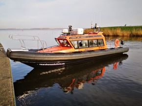 10 mtr Offshore Support Cabin RIB for sale or charter