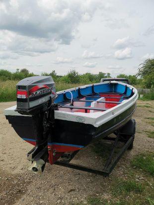 17 foot open boat