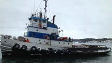 29.8m x 9m x 4m Tug - Class 1A Lloyd's Ice Hull