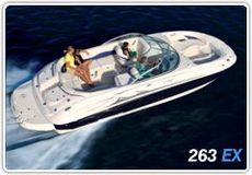 Monterey 263 EX Explorer Deck Boat