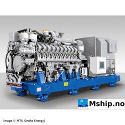 MTU 20V 4000 P63 Generator set 2500 kWe - EDG