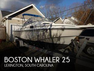 1989 Boston Whaler 25 revenge wt