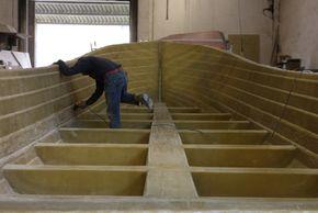 Below deck structure