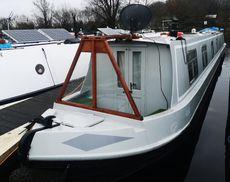 Mr Tidds Fantastic Colecraft Semi Trad moored at Roydon Marina Village