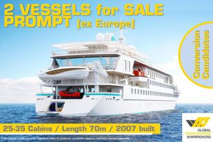 70m / Expedition Vessel (Conversion) for PROMPT Sale / #435F