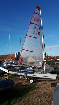 Blaze racing dingy SAIL only