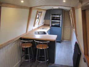 Galley and breakfast bar