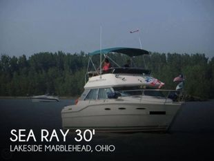 1985 Sea Ray 300 Sedan Bridge