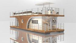 Zafiro 40 Houseboat