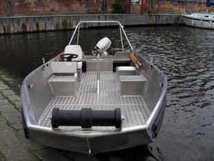 Heavy Duty Aluminium Utility Boat