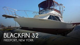 1986 Blackfin 32 Flybridge