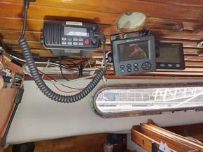 Vhf radio with DSC weather man And AIS  which is to be wired in