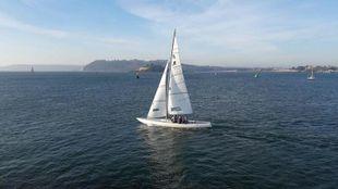 etchells 22 racing keelboat