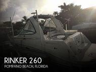 2008 Rinker 260