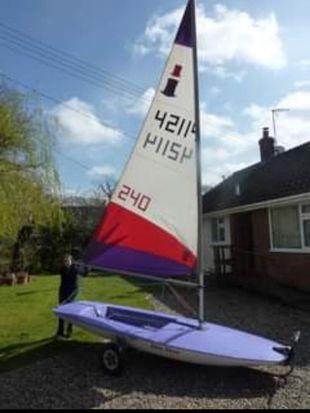 Topper 5.3  sail no.42114