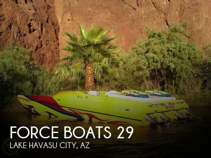 2004 Force Boats 29