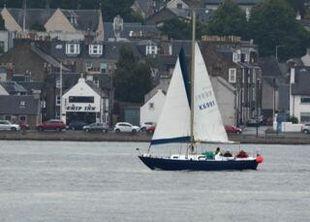 """Dorfi Cutlass 27"""" long keel cabin Yacht"""