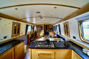 INNISFREE - 65 X 10 Widebeam Liveaboard, 2018 Collingwood Boats