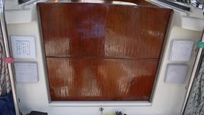 washboards - varnished