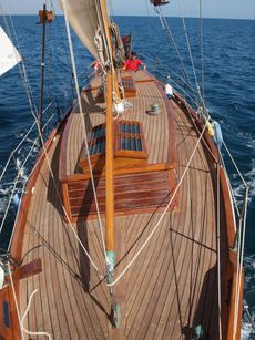 42ft CLASSIC LAURENT GILES BERMUDIAN CUTTER
