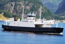 Well maintained dobbel ended car ferry with valid certificates 2023