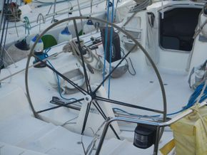 IMX -38 Racing yacht with Aft cabin - Helm