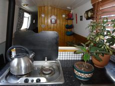 38ft narrowboat liveaboard in London