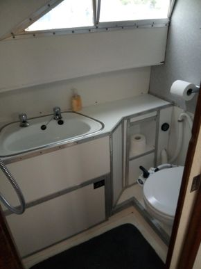 Port side Bathroom