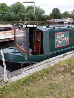 57ft Cruiser Stern Narrowboat  Built by P M Buckle in 2001.