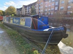 'Merlin' - Steel Trad Stern Narrowboat - 44'