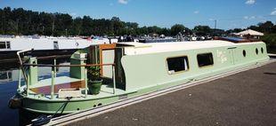Easy & Slow 55' x 10' with a mooring option at Roydon Marina Village