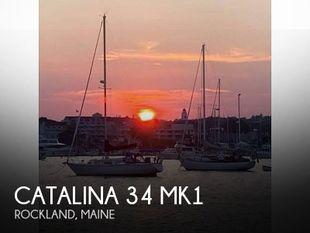 1987 Catalina 34 Mk1