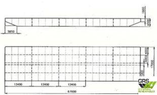 67m / 16,96m Pontoon / Barge for Sale / #1092603