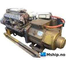 Mercedes OM352A. 75 kWA generatorset