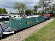 34ft Traditional stern narrow boat.  Built by Ashby Marine in 1991.