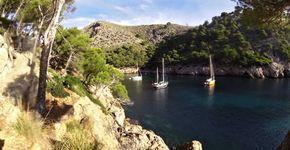Wonderful anchorages